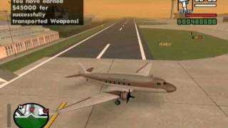 GTA San Andreas - CLEO Mod - Pilot Missions Version 1.0