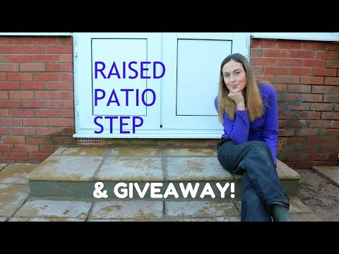 £60 Raised Patio Step & 10k Sub GIVEAWAY! / The Carpenter's Daughter