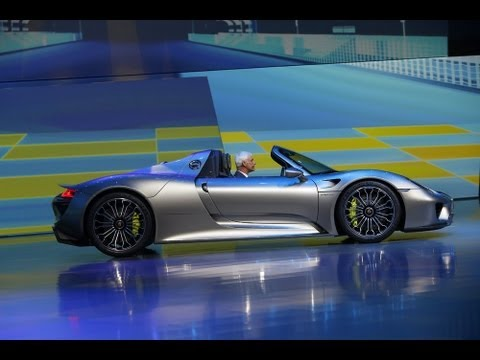 Porsche 918 Spyder: World Premiere in Frankfurt