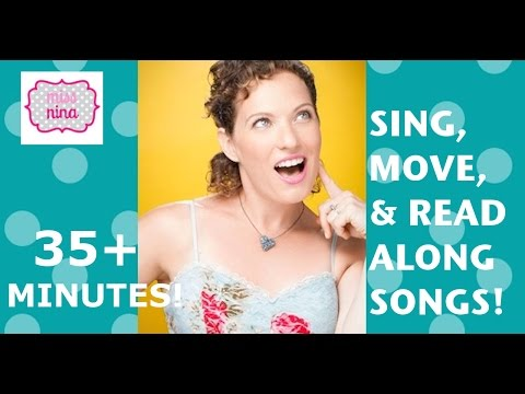 35 Minutes of Kids Songs with Miss Nina: Baby Bumblebee, 5 Little Monkeys & more!