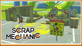 HUSET SKA UPP! - Scrap Mechanic Tävling med Toffe!