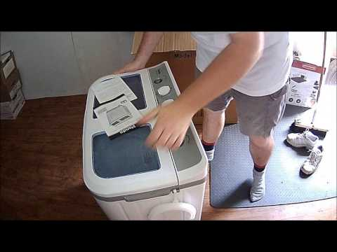 Off Grid Washing Machine & Spin Dryer