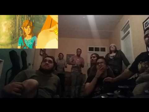 The Legend of Zelda Breath of the Wild Release Date REACTION!!! Nintendo Switch