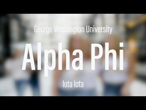 Alpha Phi - George Washington University
