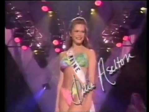 1995 Miss Maine Teen USA Katie Aselton finals swimsuit