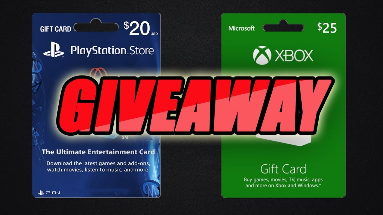 ps4 sweepstakes xbox and ps4 giveaway youtube 8034