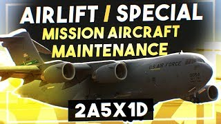 Airlift/Special Mission Aircraft Maintenance - 2A5X1D - Air Force Jobs (C-17 Crew Chief)