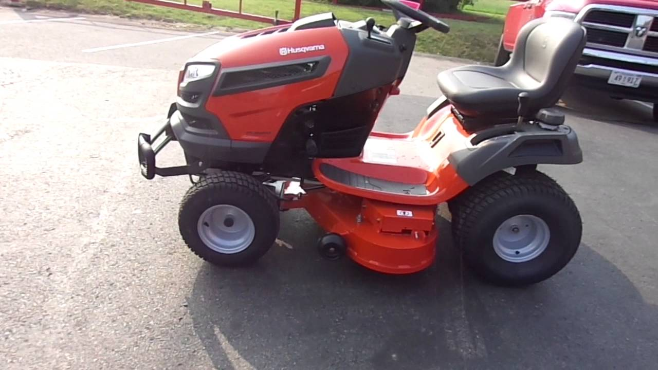 42 Husqvarna Yth24v42ls Riding Lawn Mower Tractor With 24