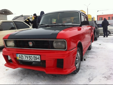 В продаже СУПЕР МОСКВИЧ за 1500$  ТЮНИНГ АЗЛК SUPER Moskvich  A Car ..