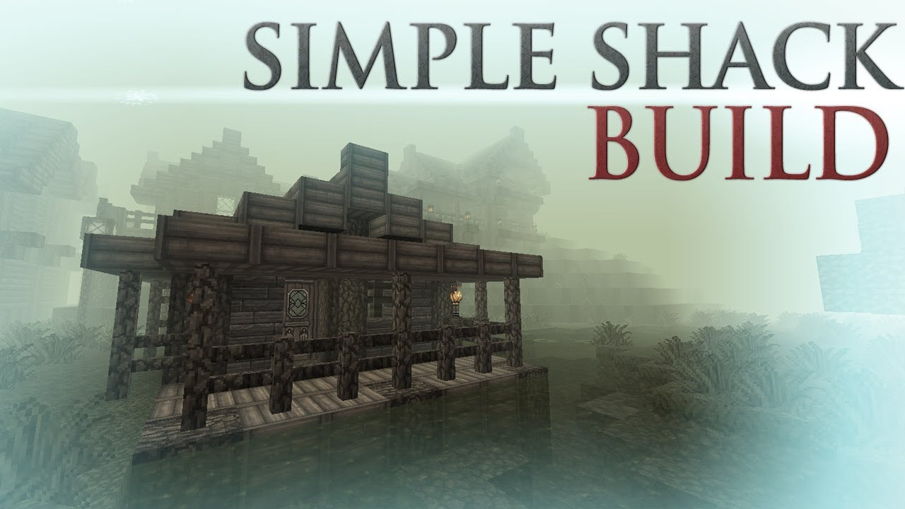 Swamp simple shack build youtube for How to build a small shack
