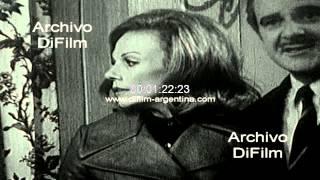 """DiFilm - Promo del ciclo """"Esto es Teatro"""" con Silvia Montanari 1969"""