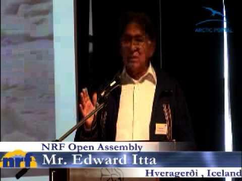 Mr. Edward Itta - Mayor of North Slope Borough, Alaska