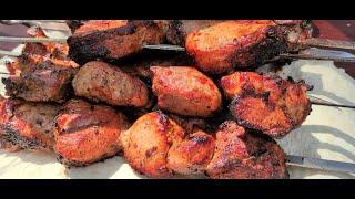 Шашлык из Индейки сочный и мягкий как приготовить Рецепт