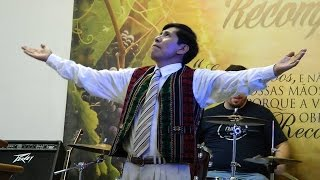 Música boliviana com coreografia na ADVA Jd Alvorada