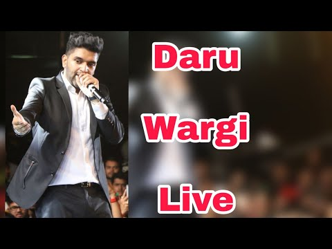 Daru Wargi - Guru Randhawa || Live Concert || Guru Randhawa Live Daman || Top 10 Hindi Productions