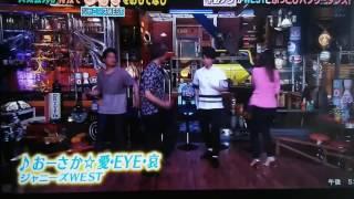 平野ノラさんとジャニーズWESTで新曲踊ってます! ピンぼけしててごめん...