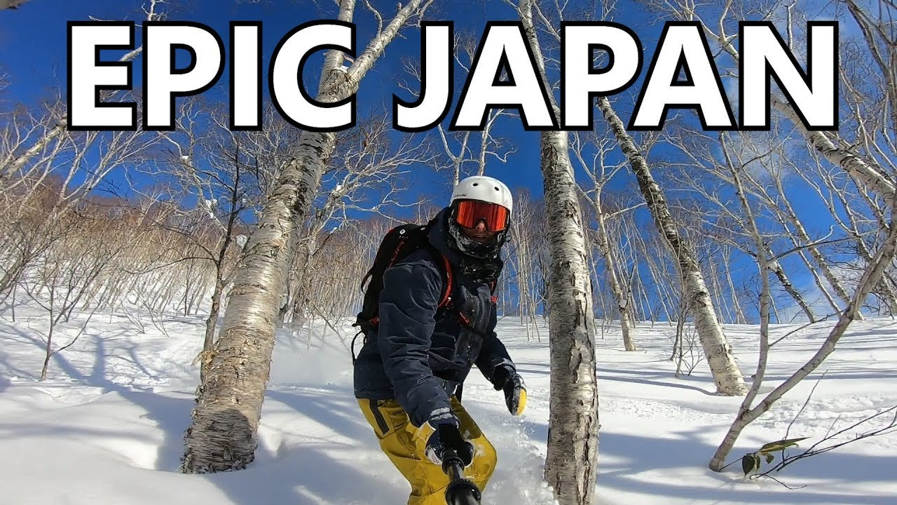 Epic Japan Powder Snowboarding in Niseko