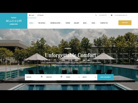 How To Make A Hotel Booking, Real Estate Website With WordPress - 2018