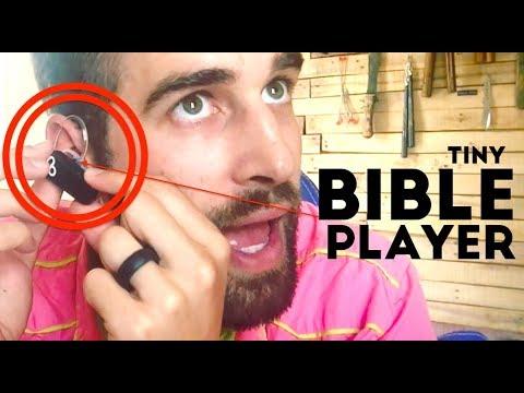 ★★★★★ OHURA Mini Audio Bible Player - In-Ear Electronic Bible Traveler
