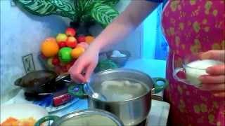 GVK : Зеленый борщ,зеленый суп,суп с крапивой,картофельное пюре,печень,готовим печень,печень с луком