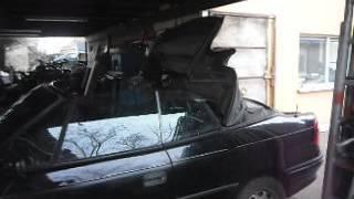 Astra cabrio tető nyitás