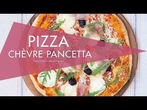 pizza-chèvre-pancetta---recette-au-cook-expert-magimix