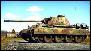 Panther x5 (War Thunder Tanks Gameplay)