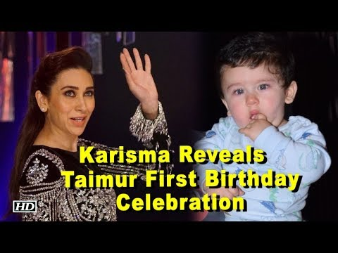 Taimur Ali Khan First Birthday Celebration – Karisma Reveals Mp3