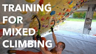 Training for mixed climbing: Fundamentals