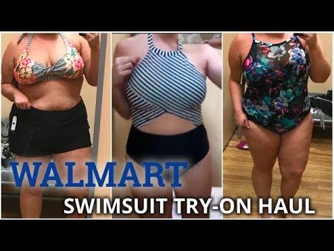 WALMART SWIMSUIT TRY-ON HAUL | PLUS & STRAIGHT SIZES! | Taren Denise