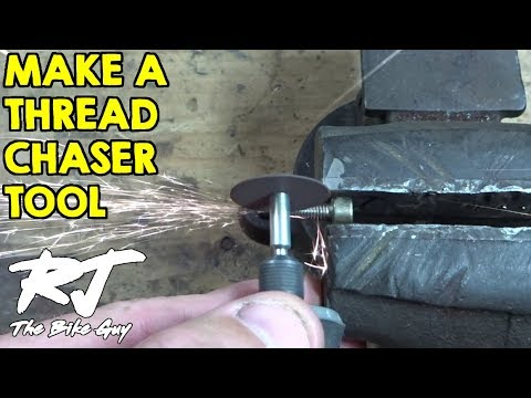 How To Make Easy Thread Chaser Tool To Fix Damaged Threads