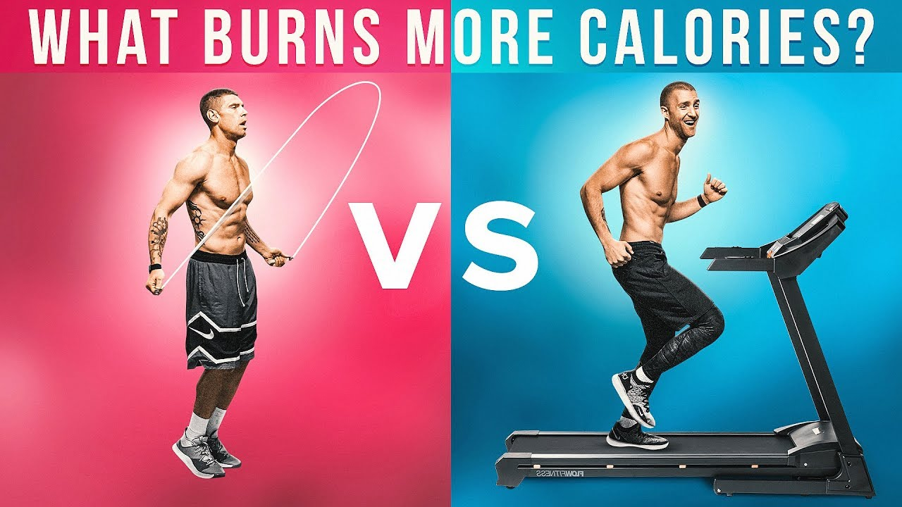 What Burns More Calories: Jump Rope Vs. Treadmill! - YouTube
