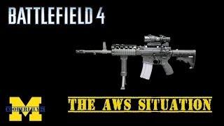 Battlefield 4 - Naval Assault DLC - AWS Light Machine Gun Nerfed