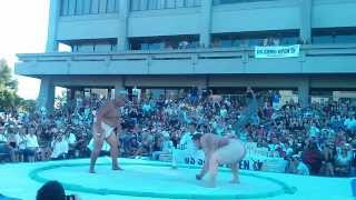 9/15/2013 - US Sumo Open in Los Angeles. SEE SLOW MOTION HD VERSION...