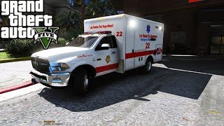GTA 5: First Responders #1 - Chicago EMS With Idiot Drivers
