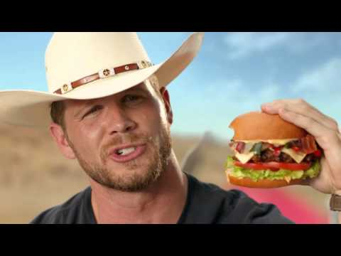 Hardees   Tex Mex Bacon Thickburger  Borderball  Commercial