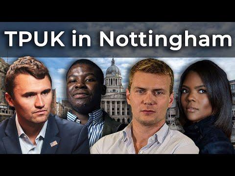 TPUK In Nottingham - Charlie Kirk, Candace Owens, Joel Chilaka, George Farmer