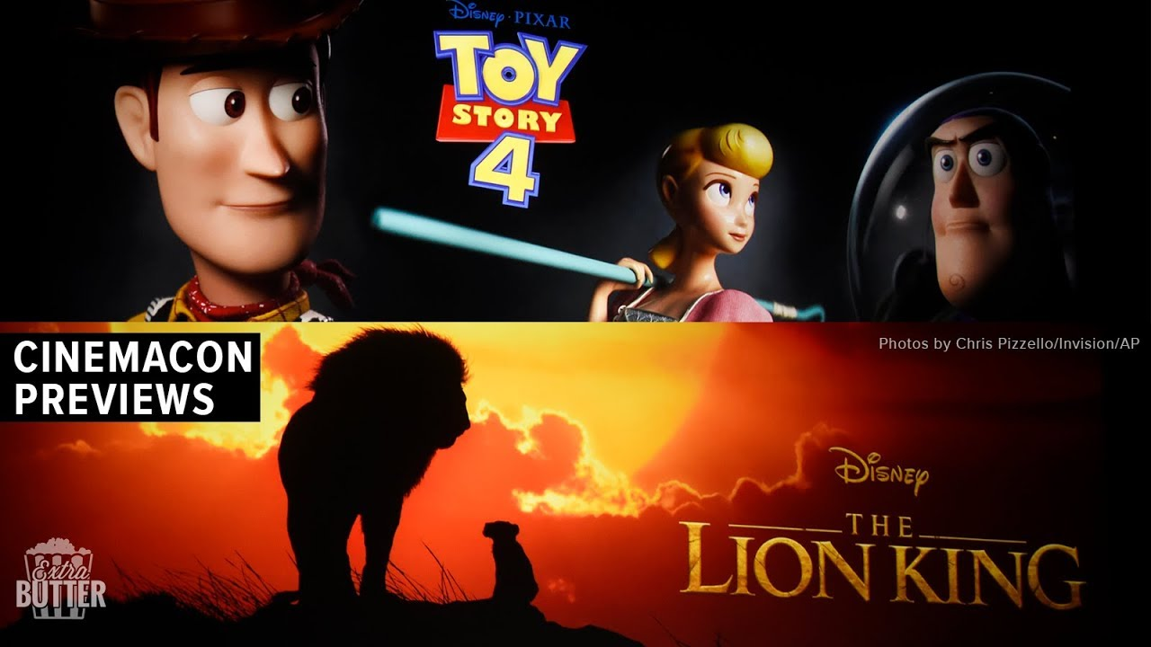 CinemaCon 2019 Movie Previews | The Lion King, Toy Story 4 ...