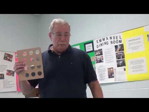 Collecting Coins By Type by Jim McDermott - Wilmington Coin Club - Numismatics with Kenny - 10/2017