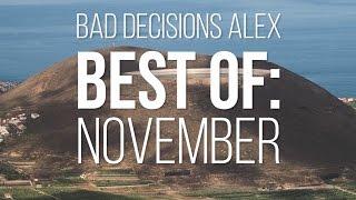 Bad Decisions Alex Best of: November 2015 - Skate[Slate].TV