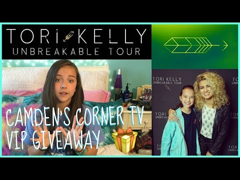 Tori Kelly Unbreakable Tour & VIP Giveaway