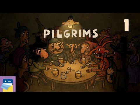 Pilgrims: Apple Arcade iOS Gameplay Walkthrough Part 1 (by Amanita Design)