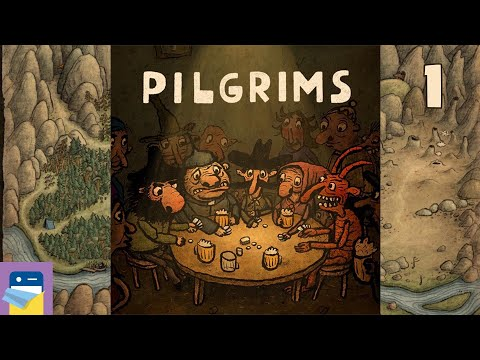 Pilgrims: Apple Arcade IOS Gameplay Walkthrough Part 1 (by Amanita Design)