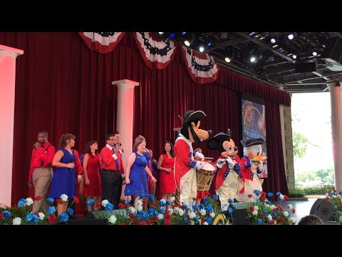 Epcot - Voices of Liberty Fourth of July 2015 Concert