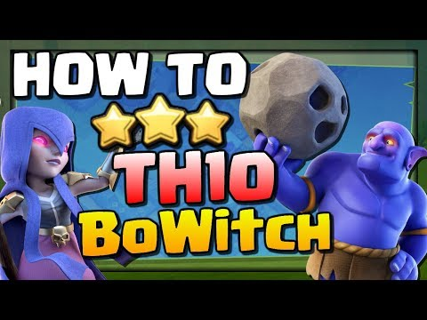 How to BoWitch at TH10 | CoC Attack Strategy Guide | Clash of Clans