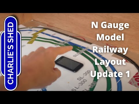 N Gauge Railway Layout – Update 1 – Layout Planning and Baseboard Revamp