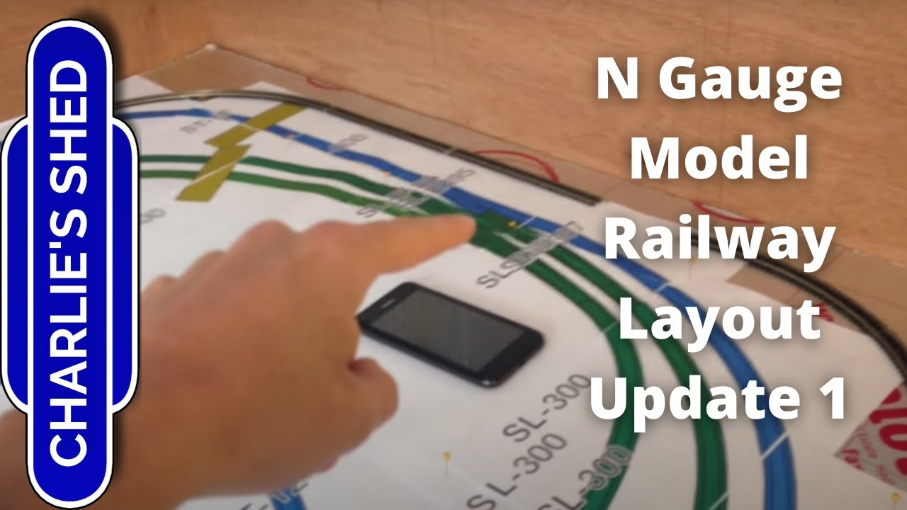 N Gauge Railway Layout - Update 1 - Layout Planning and Baseboard Revamp
