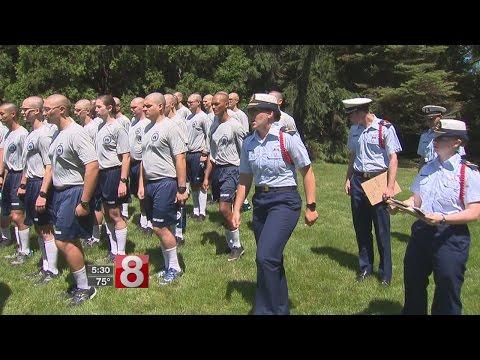 Swab Summer begins at the US Coast Guard Academy