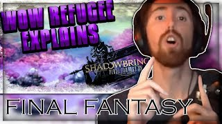 Asmongold Reacts to WOW REFUGEE EXPLAINS SHADOWBRINGERS TRAILER - Final Fantasy XIV