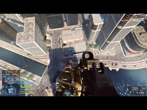 Максимальный уровень в Battlefield 4. 1 серия.